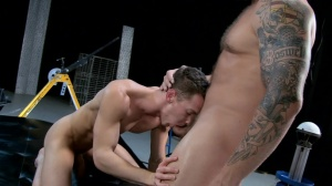 The Gaytrix - Colby Jansen and Darius Ferdynand ass Love