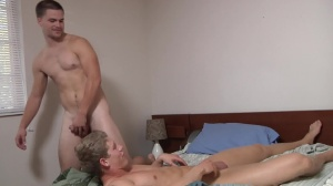 Blocking The Roommate - Jimmy Johnson and Brett Carter anal fuck