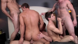 Tops merely Required - Johnny Rapid, Rocco Reed 18 bone