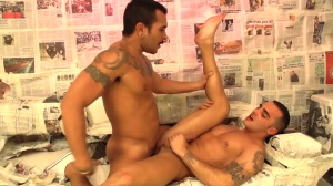 follow The Light - Lucio Saints with Adrian Toledo anal sex