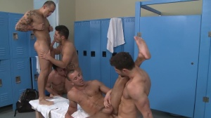 recent Teammate - Dylan Roberts with Dean Monroe anal Hook up