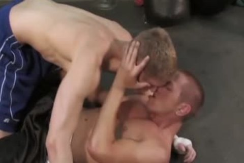 Mason Wyler receives pounded