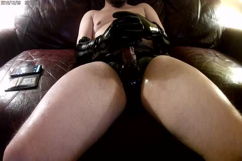 recent Elbow Length darksome Latex Gloves And panties!!!