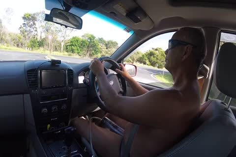 Driving undressed