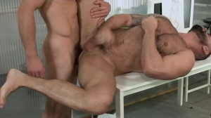 Defiance - Paddy O'Brian with Victor D'Angelo anal dril