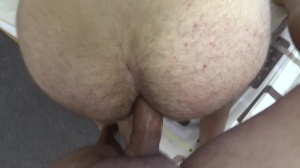 A twink becomes a dildo for specie
