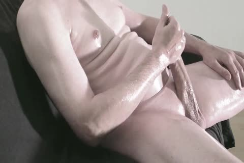 Robin Jerking His large bald Uncut cock 253