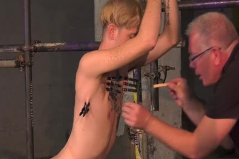 TT Sub twink Talks About His Experience With old dom