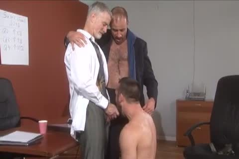 Daddy Suit And Tie threesome pound