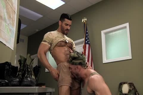 Army studs studs Polishing Each Other's Boots