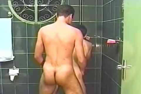 Two lovely males suck Each Other Off In The Shower