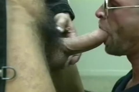supple Fireman gets His taut chocolate hole Stretched
