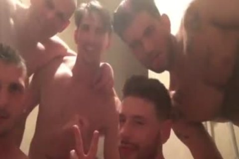 gang sex And Shower