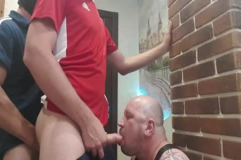 2 dom From The Doorway Hard fuck throat And unprotected