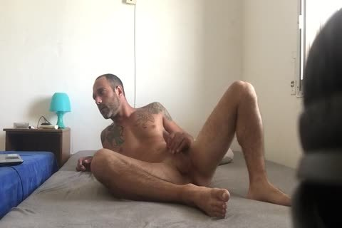 Hidden web camera Catches Roommate web camera Model Broadcast Himself naked And Masturbating Showing Feet