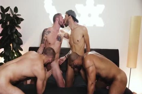 Foursome ass homosexual Sex