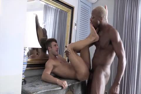Andre's raw BBC fucks Allen every Which Way Imagineable