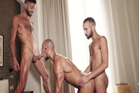 Louis Ricaute, Rodolfo & Fostter Riviera - Louis raw 3some