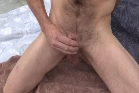 Precum Then Aloe Plant To Lube My knob outdoors For jerking off
