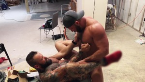 Pup & Tank fuck raw All Over A Construction web resource - American Nail