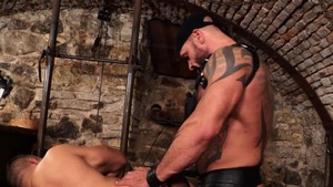 sexy Muscle Sub - Bruno Turbo booty Licking Love