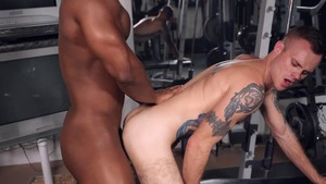 Bench Press My butthole - Cody Smith  with DeAngelo Jackson American bang