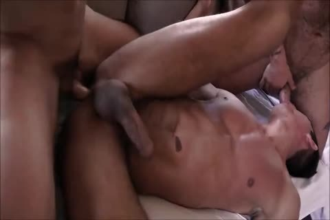lusty Spanish bareback Three-some With Daddies And lusty Hunky Son