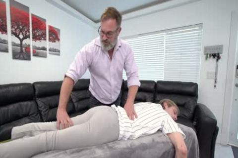 built lad Massaged And nailed By Stepdad