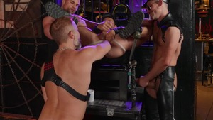 Tom Of Finland: Leather Bar Initiation - Dirk Caber with Kurtis Wolfe American plow