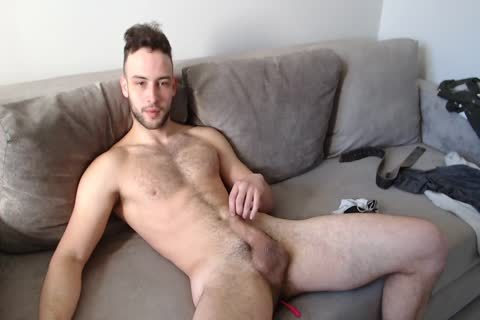 athletic Muscled lad Alex With nice Body Hair And sperm flow