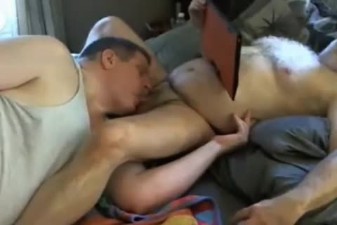 Biguy62 Grey Bearded grandpa gets Cocksucked And good Rimjob