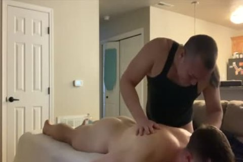 dude Do Massage To young dude And dril It After