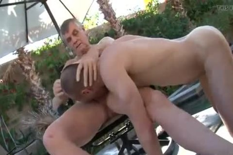 three-some With Two older men Daddy 1