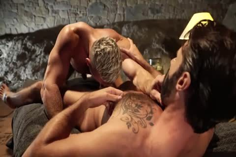 filthy Daddy fucks Bearded Son outdoors