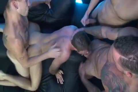 horny bare homosexual fuckfest By VE1988