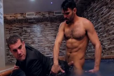Muscle homo anal sex With Sex ball cream Flow