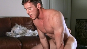 SeanCody: Nailed rough together with brown hair american Jax