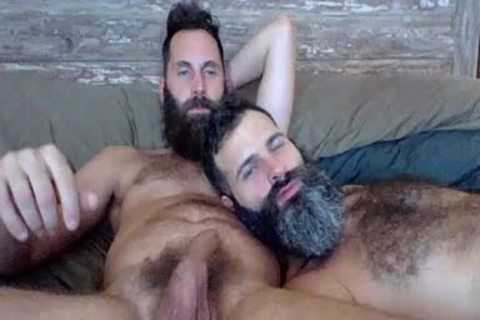 two Bearded boyz banging On Live