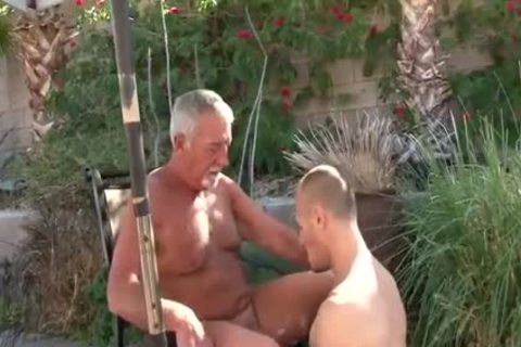 three-some With Two older males Daddy 1