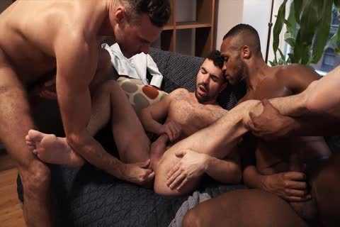 fine three-some - Fisting, booty fuck, oral joy-service, cum On ass