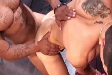 filthy Latino gets poked By BBC