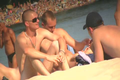 SPYING ON undressed studs AT THE NUDIST BEACH - VOL 1