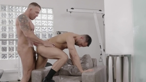 IconMale.com: Tristan Brazer with black hair Colby Tucker