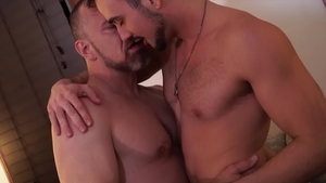 IconMale: Mature Max Sargent & Mason Lear butt fucking HD