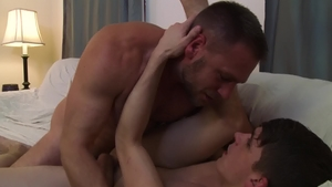 Icon Male: Young twink Kory Houston reality rimjob in HD