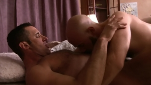 IconMale.com - Hairy Damon Andros anal fucked rimjob