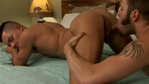 Icon Male - College student Wolf Hudson exposing nice big dick