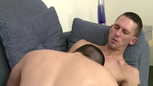 IconMale.com: Hairy Aaron Slate cock sucking