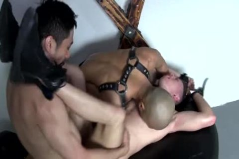 asian 3some bare