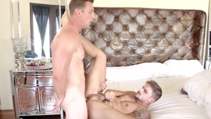 Next Door Buddies: Big cock Jackson Reed facial